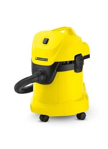 Karcher 1.629-820.0 Wd 3 1000 Watt Islak Kuru Süpürge Sarı